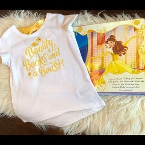 Authentic Disney Parks Beauty and the Beast Top